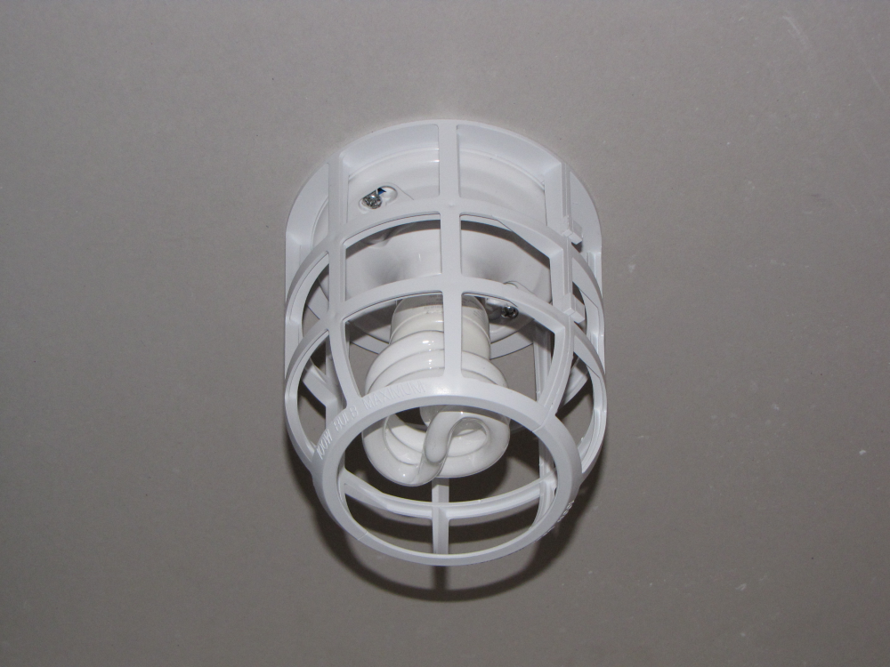Safety Light Fixtures : Specialty brand products liteguard light bulb safety cage